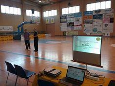 """comienza el Seminario Técnica Individual @FGB_Baloncesto en Cambados, abre como ponente @ManuSantos80 @xuven """"EL TIRO"""""""