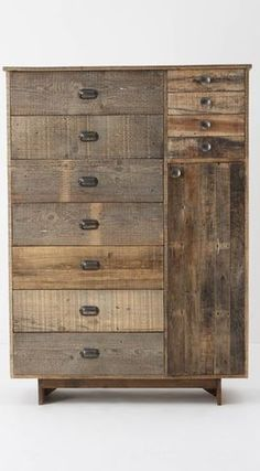 I would to do a wooden dresser because I need a knew one. I could also make a closet section on the side