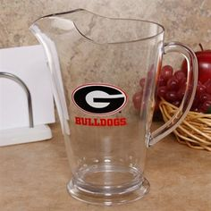 Georgia Bulldogs 64oz. Unbreakable Ice-Lip Pitcher  #ultimate tailgate  #fanatics