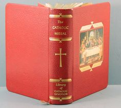 The Catholic Missal 1960 Library of by QueeniesCollectibles, $19.99