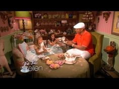 Sophia Grace & Rosie Have Tea with LL Cool J