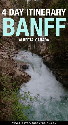 Planning a trip to Banff National Park in Alberta, Canada? Here's everything you need to see and do in the gorgeous Banff and Jasper National Parks! Canada National Parks, Banff National Park, Visit Canada, Canada Trip, Canadian Travel, Canadian Rockies, Backpacking Canada, Canada Destinations, Road Trip Adventure