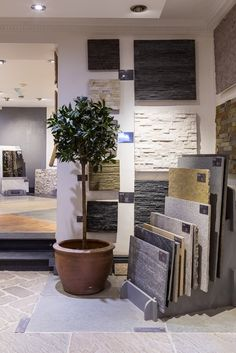 Our beautiful Mandarin Stone Cheltenham Showroom.... Stunning displays of natural stone, porcelain, decorative tiles and bathware. Come visit us in one of our 10 UK inspirational showrooms!  www.mandarinstone.com
