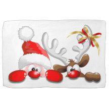 #Copyright©BluedarkArt #Funny #Santa and #Reindeer #Cartoon #Products - by #BluedarkArt at #Zazzle    http://www.zazzle.com/bluedarkat/products?dp=0&sr=250036692159613382&cg=196910424401522054