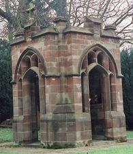 Berkswell, Staffordshire (WM632)  Berkswell's First World War memorial is a small chapel in the corner of the churchyard. It has arches and ...