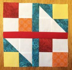 Fluffy Puppy Quilt Works: Scrap Block #35