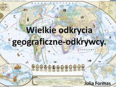 Wielkie odkrycia geograficzne-odkrywcy.> Homeschooling, Education, Film, Youtube, Geography, Shapes, Movie, Film Stock, Cinema