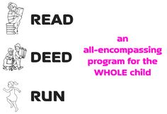 #lessonplans for a Read, Deed and Run program, an all-encompassing program for the WHOLE child. Students commit  to read 26 books, perform 26 hours of deeds in the community, and  run a  total of 26.2 miles. #classroom #kidsactivities