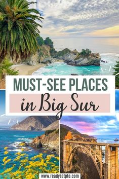 Beautiful Places In California, Big Sur California, Beautiful Places To Travel, Best Places To Travel, Places To Visit, Northern California Travel, Best Weekend Trips, Day Trips, Best Road Trips