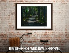 Discover «Enchanted Forest», Limited Edition Fine Art Print by Glink - From $39 - Curioos