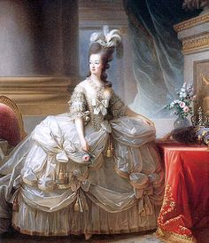 Official portrait of Marie Antoinette painted by Vigée-Lebrun c. 1779. Around this time, Marie Antoinette is rumored to have renewed a romantic relationship with the Swedish diplomat and French army officer, Count Axel von Fersen.