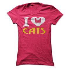 I Love Cats T Shirts, Hoodies Sweatshirts