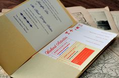 passport of wedding information for out of town guests @Jenelle Koeplin