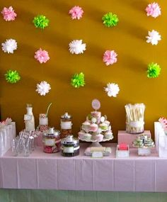 afb6b72213 cute back drop and can be done in any color combinations (consider your  wall color