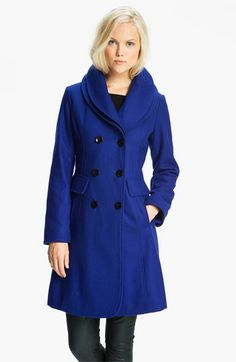 GUESS Double Collar Coat (Online Exclusive) available at #Nordstrom