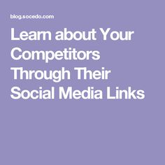 This is a guest post by Taylor Ripp. Taylor Ripp is the Business Development Manager for Geniuslink. Geniuslink empowers digital marketers through intelligent links with unrivaled capabilities to turn clicks into conversions. Social Campaign, Social Media Outlets, Competitive Analysis, Digital Marketing, Learning, News, Travel, Viajes, Studying