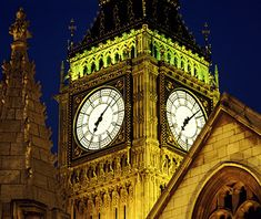 Worlds Most Beautiful Clock Towers: Big Ben, London