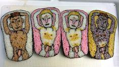 the art of Makizushi | Takayo Kiyota uses sushi rolls as her canvas