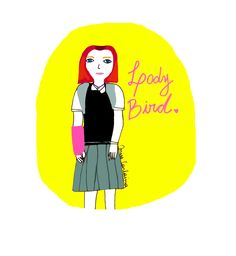 Lady Bird. Illustrations, Bird, Lady, Birds, Illustration, Birdwatching, Illustrators, Drawings