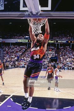 Basketball Pictures, Nba Basketball, Sports Page, Phoenix Suns, Slam Dunk, Anarchy, Role Models, 1990s, My Style