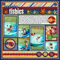 Little Fishies - Scrapbook.com