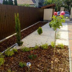 Galéria | Kert-Ötlet 3D A házhoz közel eső kerti területeket szabályos kiültetésekkel is díszíthetjük. Sidewalk, Side Walkway, Walkway, Walkways, Pavement