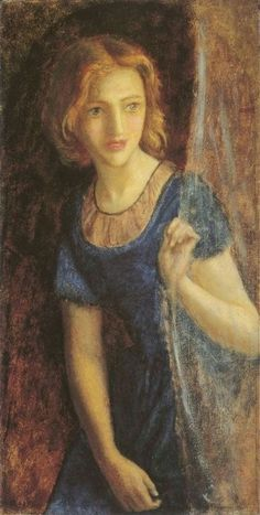 Mariana At The Window -Arthur Hughes