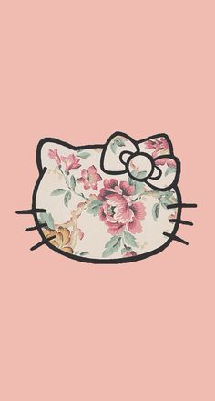 Hello kitty pink vintage