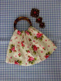 #handbag #floralbag #cotton #fabric #simplebag #diy
