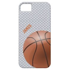 Basketball Custom iPhone 5 Case