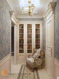 Фото холл из проекта «Дизайн трехкомнатной квартиры 126 кв.м. в классическом стиле с винтажными элементами, ЖК «Пять звёзд»»