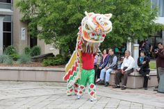 Lion showing off Lion Dance, Toronto, Birthday Parties, Party, Anniversary Parties, Birthday Celebrations, Parties, Birthdays
