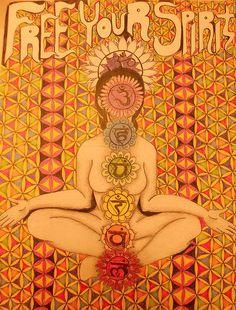 718 best images about chakras on reiki chakra Art Chakra, Chakra Healing, Reiki Chakra, Chakra System, Circle Art, Chakra Balancing, Mind Body Soul, Favim, Yoga Meditation