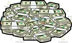 a pile of us dollar money pinterest money clipart rh pinterest com big pile of money clipart big pile of money clipart