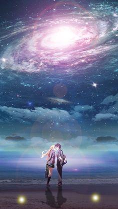 ~ Shigatsu wa kimi no uso / Your lie in April Hd Anime Wallpapers, Anime Scenery Wallpaper, Couple Wallpaper, Film Anime, Sad Anime, Anime Art, Anime Triste, Your Lie In April, Hikaru Nara
