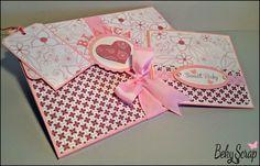 Conjunto recién nacido álbum desplegable 15x20 cm / 6 fotos y Cd Card (tarjeta para entregar Cd)