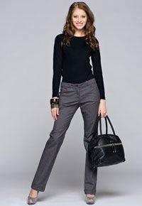 QE wooman: модели женских брюк крой