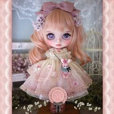 Custom Blythe ** Milk Tea ** ブライスアウトフィット *.。 さくら .。* - Auction - Rinkya