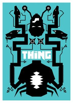 The Thing fan made poster