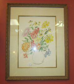 Dorothy Strauser Watercolor