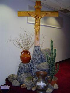 lent decoration for worship | Christmas Sanctuary