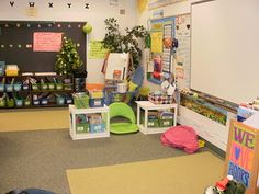 This teacher stepped outside of the box and got rid of the majority of her desks only keeping 11, so that she could have more room to do group & interactive activities. The rest of the students choose to sit in bean bags, lawn chairs, or lay on the floor during work. She backed it all up with research for her principal & her students still stay on task.   This is my dream!