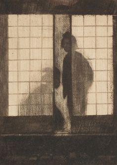View Dämmerung II by Emil Orlik on artnet. Browse upcoming and past auction lots by Emil Orlik. Japanese Prints, Japanese Art, Traditional Japanese, Etching Prints, Art Asiatique, Artist Sketchbook, Art Japonais, Dream Art, Japanese Painting