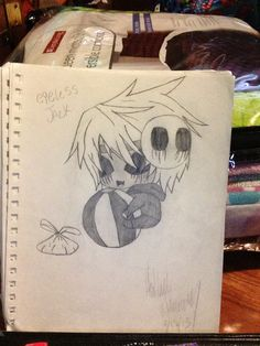 CHIBI EYELESS JACK by hailee williams