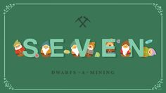 """Holiday Countdown: Seven Dwarfs-A-Mining  -  Only seven days remain until Christmas, as our friends, The Seven Dwarfs, remind us in today's Holiday Countdown. We're sure they have the inside track on gifts for the holiday season, working in a mine """"where a million diamonds shine"""" and all."""