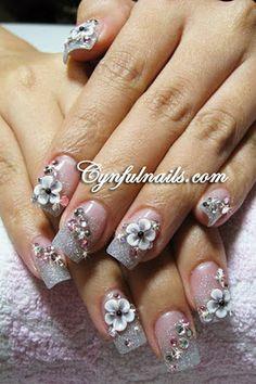 Lavender & Pink Floral 3d