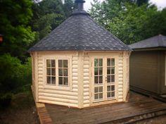 14.9 sq m Pavilion BBQ hut