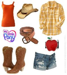 AppleJack (My Little Pony) inspired outfit <3