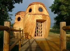 Owl inspired cabin Small house home tiny cottages cabin