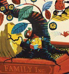 The Family Business by Steve Simpson, via Behance